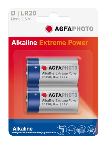 Agfa Photo Alkaline LR20 Mono