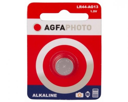 Agfa Photo Alkaline LR44 AG13, 1.5V